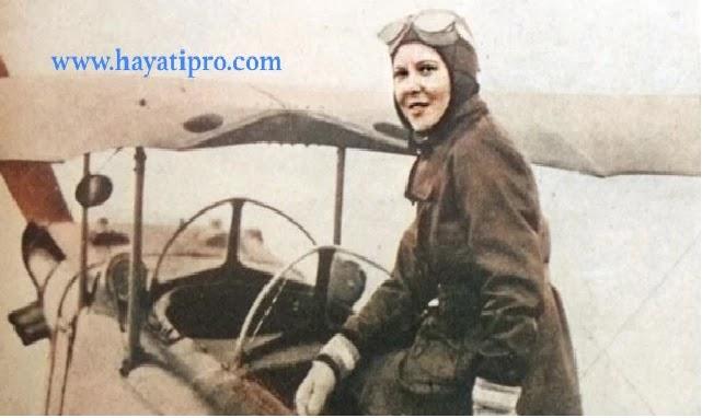 ماذا تعرف عن لطفية النادى : لطفية النادى أول طيارة مصرية