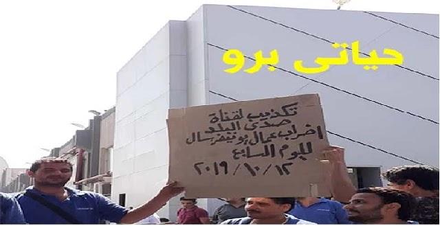 صورة تكذيب لقناة احمد موسى اضراب عمال يونيفرسال لليوم السابع