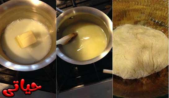 صورة بالفيديو طريقة عمل حلوى السينابون فى المنزل خطوة بخطوة