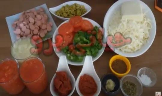 صورة بالفيديو كيفية عمل البيتزا فى المنزل خطوة بخطوة الشيف حسن
